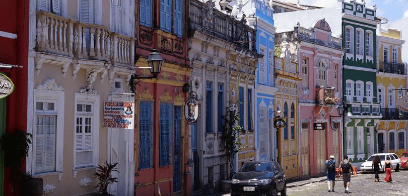 Brésil Salvador De Bahia / Rua Do Carmo