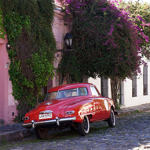 Uruguay - Colonia / Voiture Ancienne