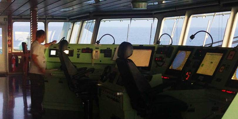 Cargo CMA-CGM Platon / Passerelle