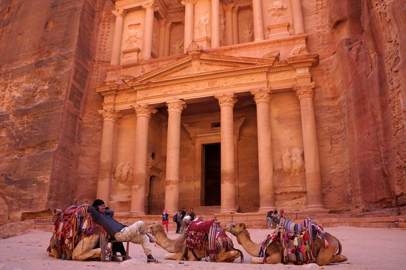 Pétra Al-Khasneh (Le trésor)
