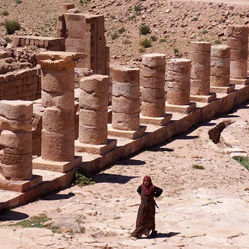 Petra - le Grand Temple
