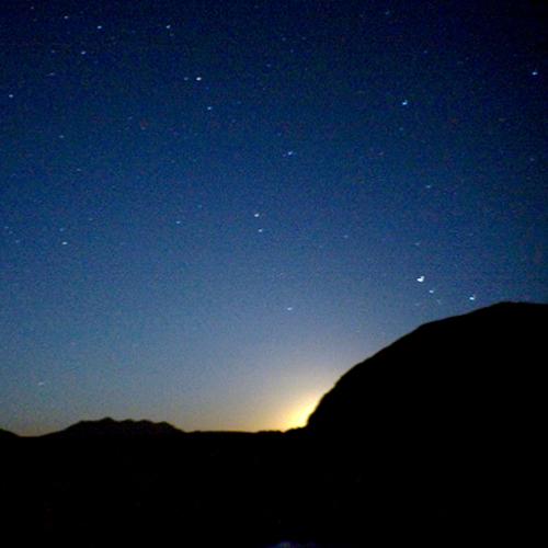 Wadi Rum - Nuit