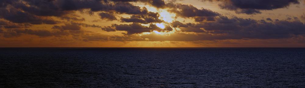 La mer la nuit