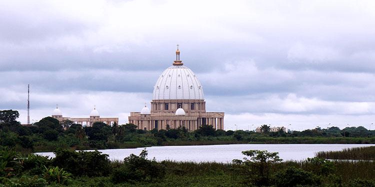 Côte d'Ivoire - Yamoussoukro - Basilique Notre Dame de la Paix