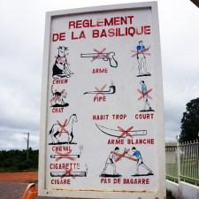 Yamoussoukro Réglement Basilique