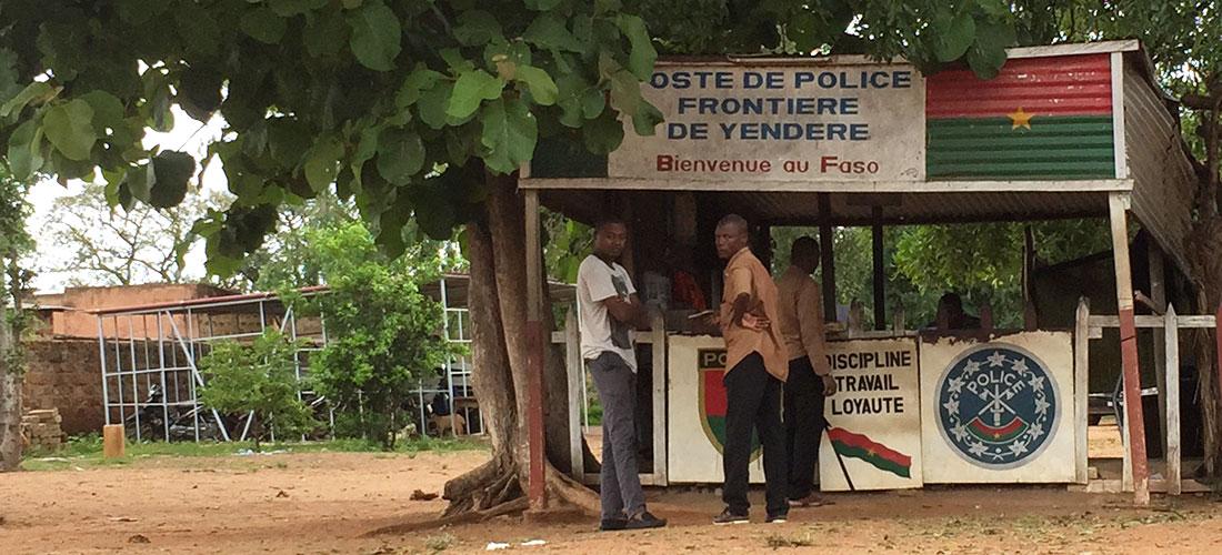 La frontière terrestre ivoiro-burkinabé