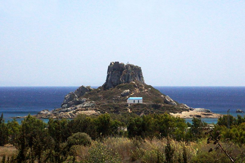Grèce Kos - îlot de Kastri : St Nicolas