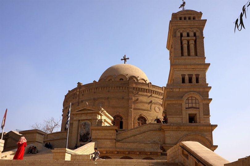 L'église de Saint Georges au Caire