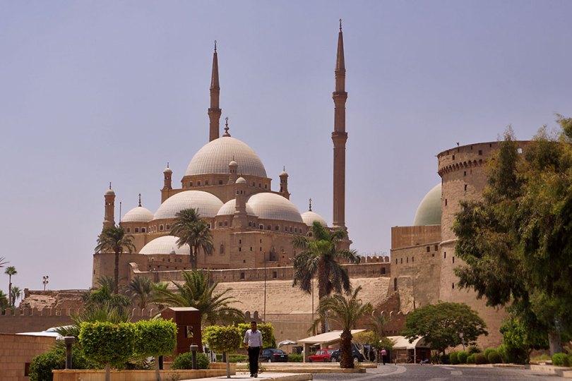 Le Caire - La citadelle : Mosquée Mohammed Ali