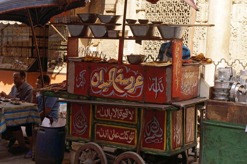 Le Caire - Cuisine ambulante