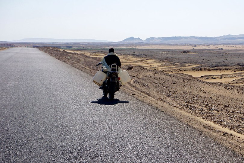 Egypte - Route