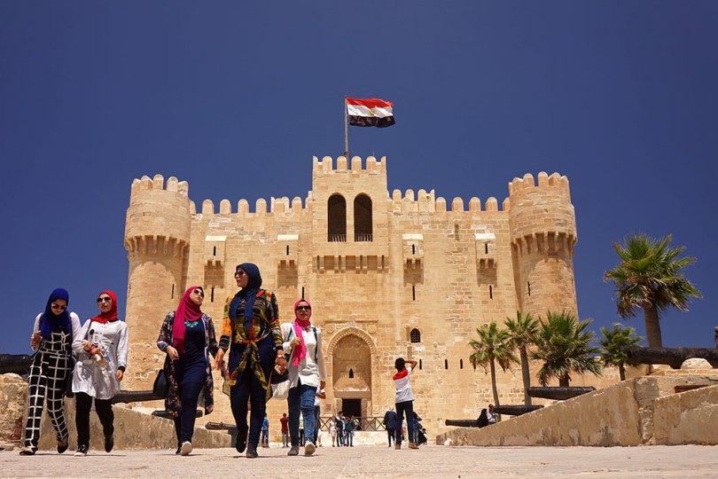 Alexandrie - Fort Qaitbay