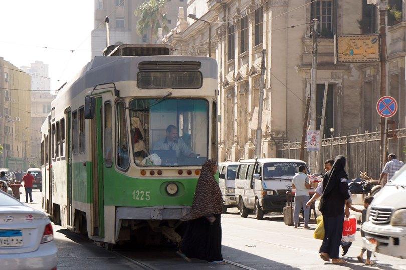 Alexandrie - Tramway