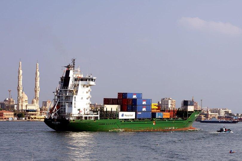 Canal de Suez - Port Saïd