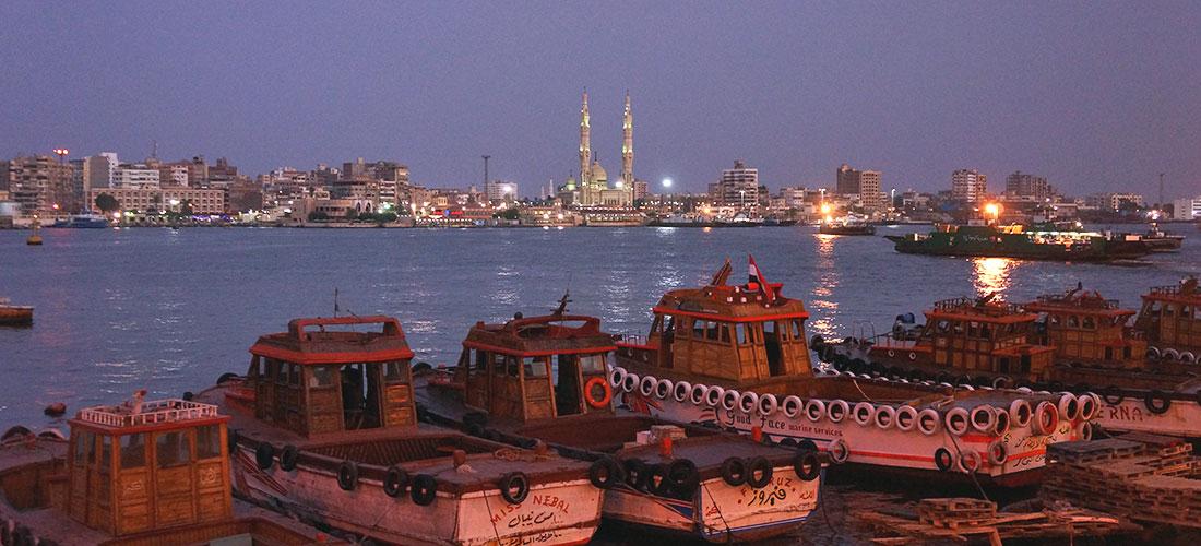 De Port-Saïd à Ismaïlia, ça fait Suez