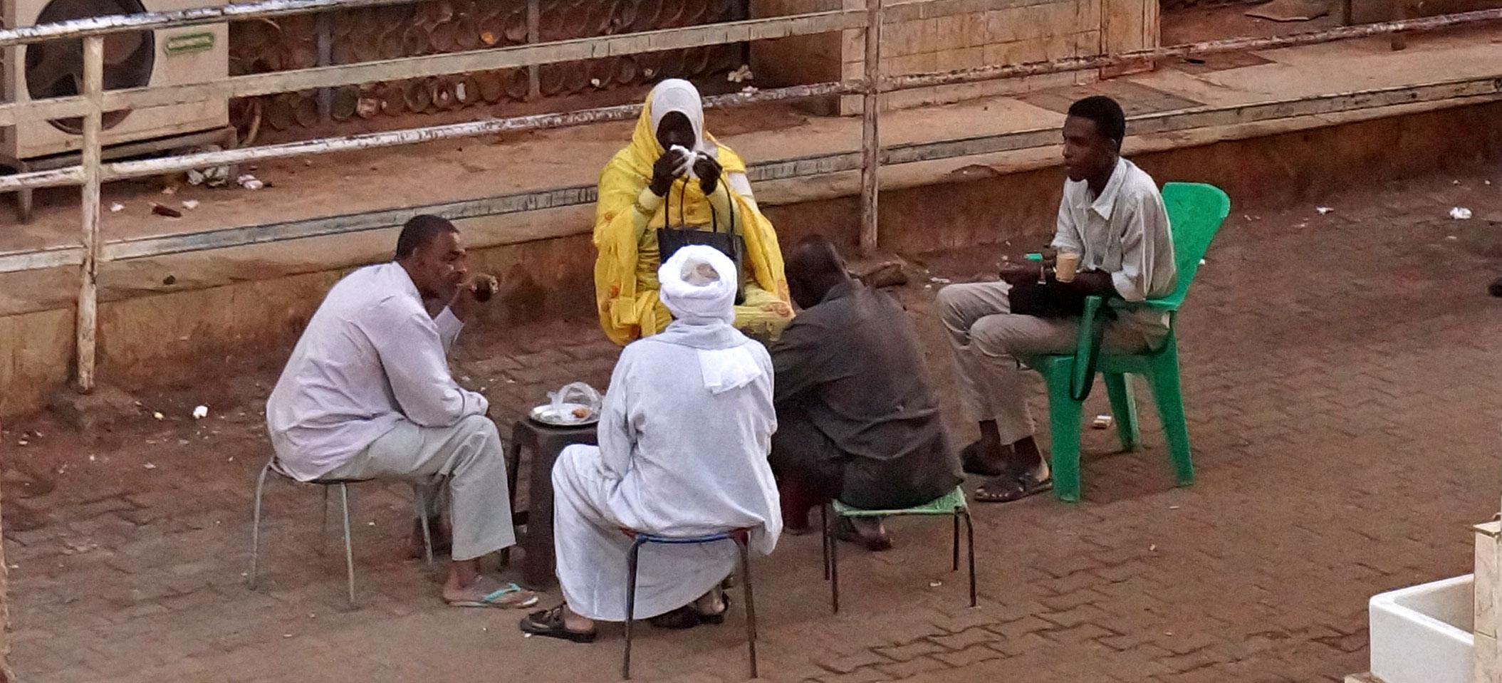 Impression Khartoum Soudan : accueil et couleurs locales