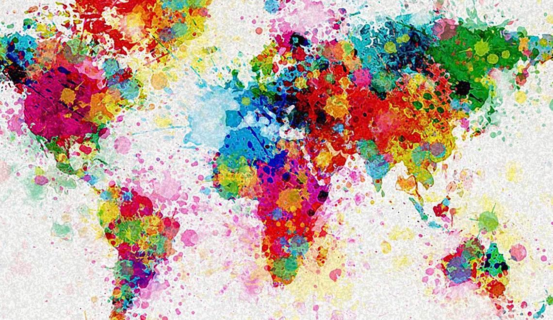 Les couleurs du monde