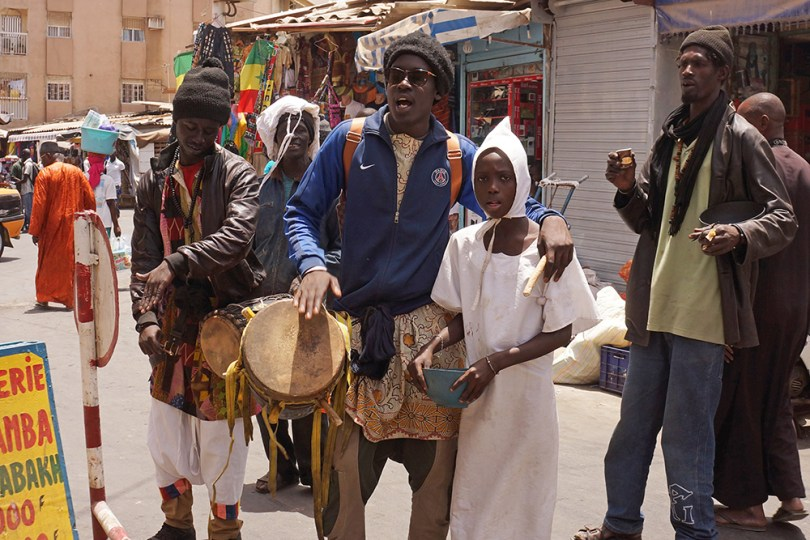Dakar - Enfant talibé