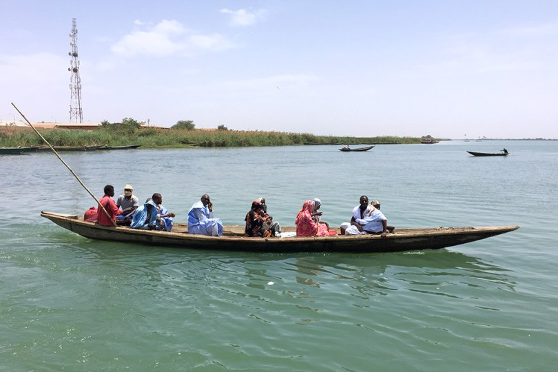 Traversée du fleuve Sénégal