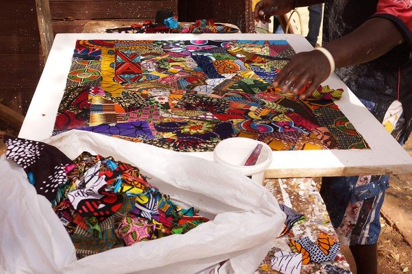 Gorée - Patchwork de wax