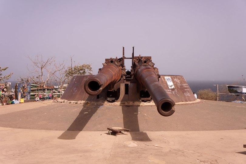 Gorée - Canons du Castel