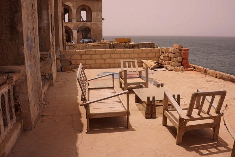 """Gorée - """"Terrasse"""" du Palais du gouverneur"""