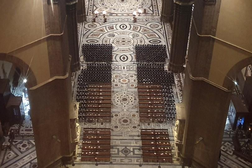 Florence : Nef de la Cathédrale Santa Maria del Fiore.