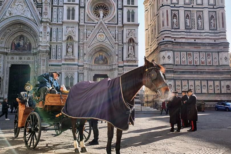 Florence : Piazza del Duomo