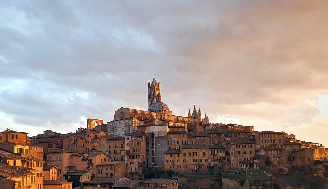 De la Toscane faire Sienne