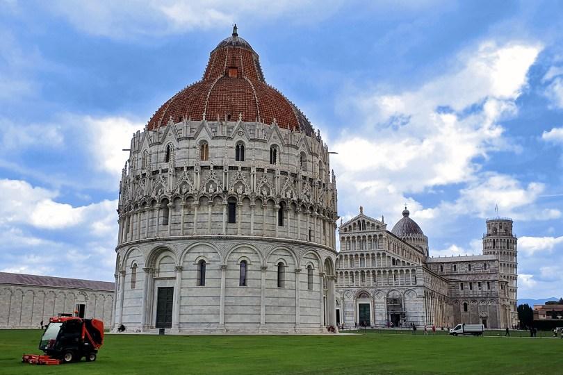 Pise - Italie : Piazza dei Miracoli