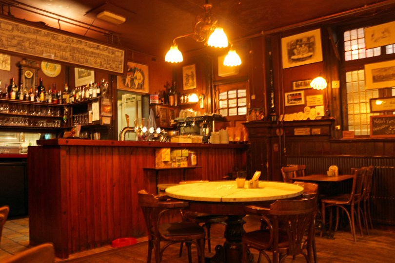 Ivresse du voyage / Amsterdam - Café brun