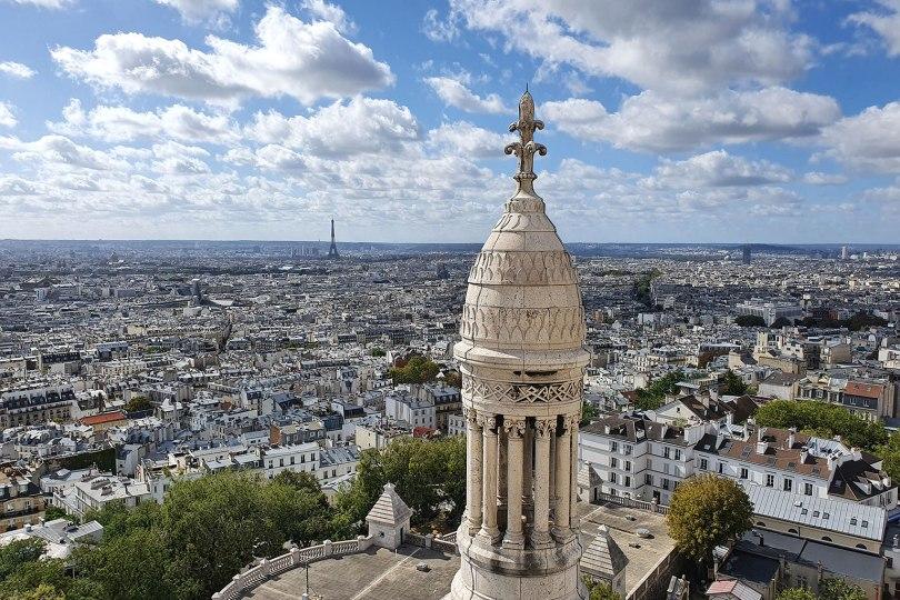 Paris vu d'en haut - Vue du Dôme de la basilique du Sacré-Cœur