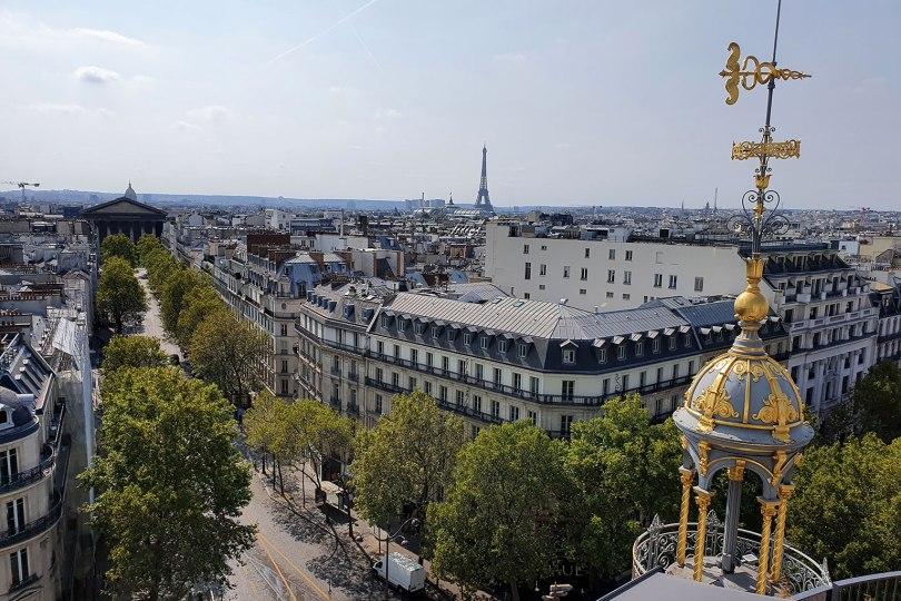 Paris vu d'en haut - Printemps Haussmann