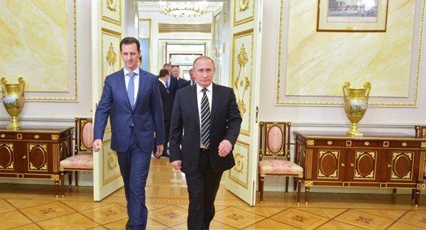 Esad ve Putin
