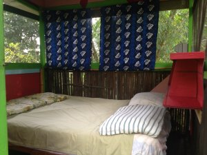 Bamboo Hut Queen Bed