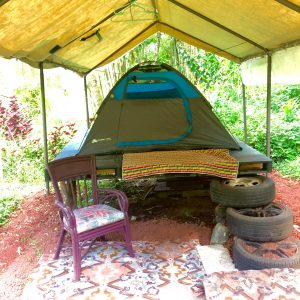 Camping Pad Canopy in Hawaii