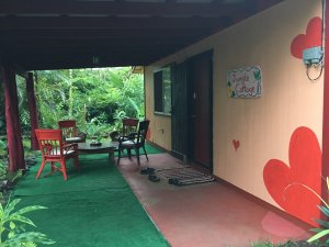 Jungle Cottage Lanai Patio