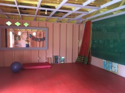 Candy Barn Yoga Room