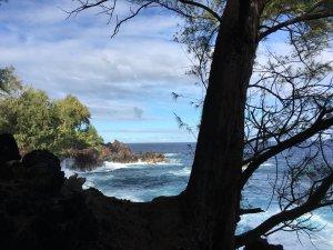 Hawaii Ocean Lava Coast
