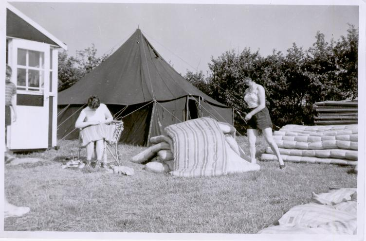 Oude-tent