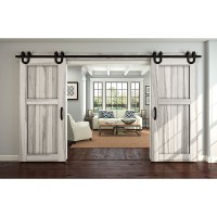 Oil Rubbed Bronze Decorative Interior Sliding Door