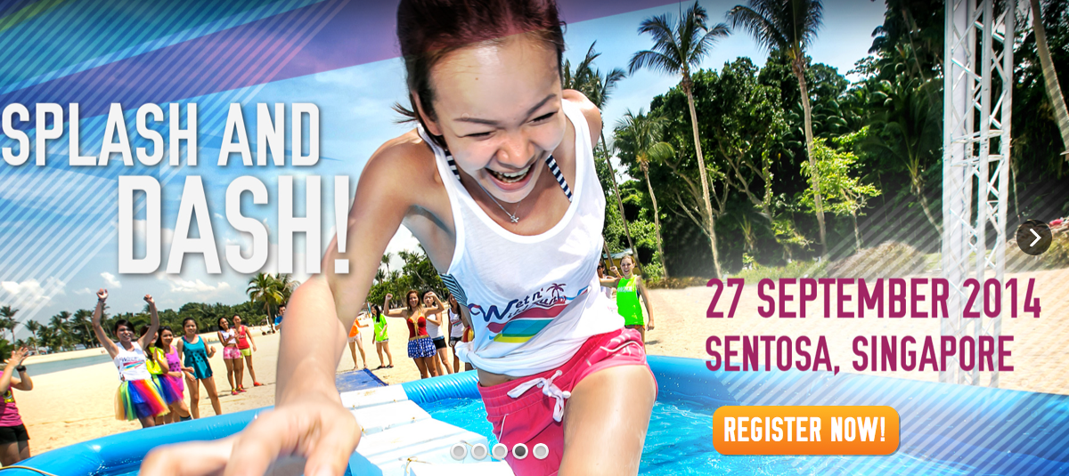 Wet and Wild Run Singapore Registration Open 18 Jun 2014!