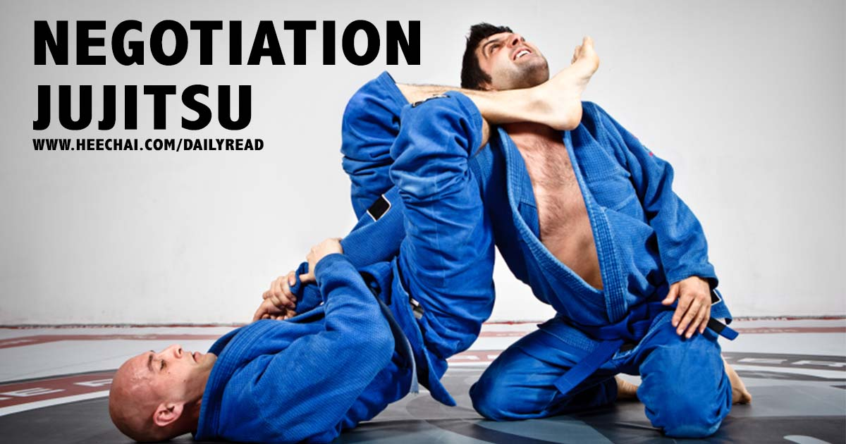Daily Read : Negotiation Jujitsu