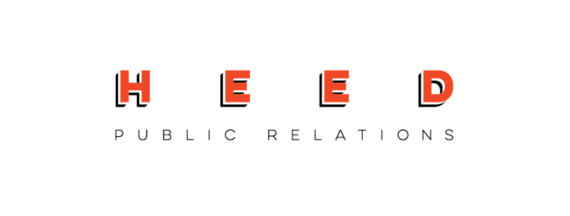 """Heed Public Relations horizontal logo from the Heed PR post """"Why I Started Heed Public Relations"""""""