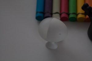 Spotmeting op wit, f/5,6 ISO 400, sluitertijd 1/13