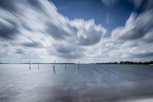 veerse meer en wolken lange sluitertijden