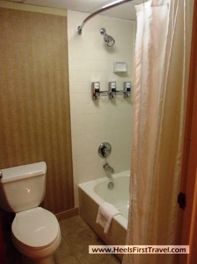 Four Points Charlotte Suite Bathroom Shower