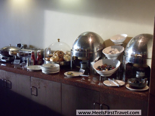 Sheraton Houston North Club Lounge Breakfast 2