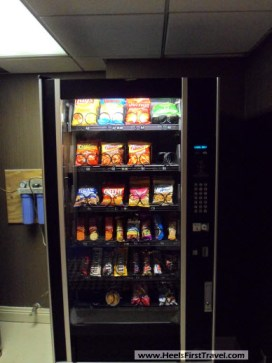 Sheraton Houston North snack machine