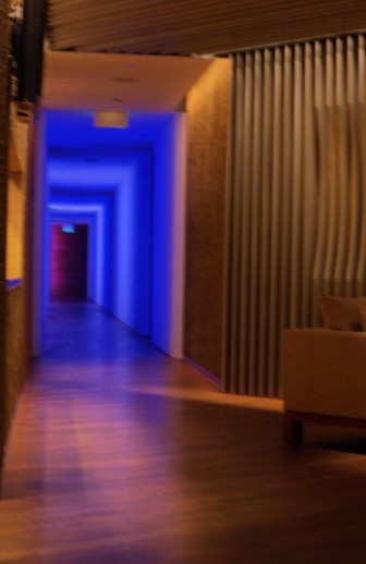 Damai Spa treatment hallway